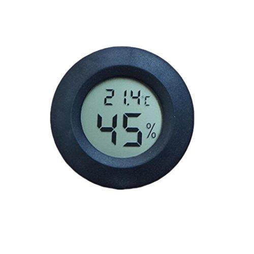 SO-buts Elektronisches digitales LCD-Aquarium Thermometer Kühlschrank Wassertemperatur Meter (Schwarz)