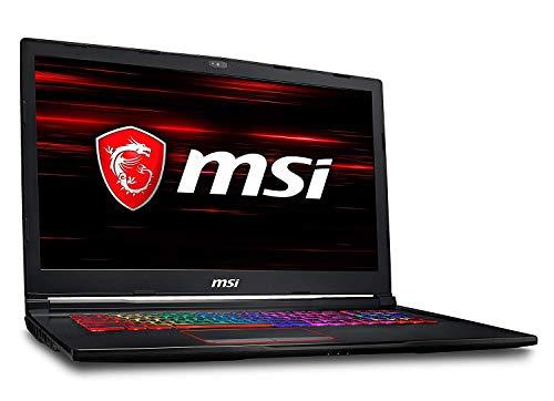 "MSI Gaming GE73 8RF-465ES Raider RGB 2.2GHz i7-8750H Intel® CoreTM i7 di ottava generazione 17.3"" 1920 x 1080Pixel Nero Computer portatile"