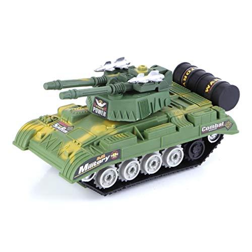 Yingjianjun Armee Crawler Panzerwagen, Inertial Schiebe Militär Panzer Spielzeug, gepanzerte Auto Chariot Modell Junge Auto Spielzeug ( Style : 1 )