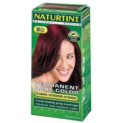 Naturtint 9R Permanent Fire Red Haircolor Kit, 4.5 Ounce -- 3 per case. by Naturtint