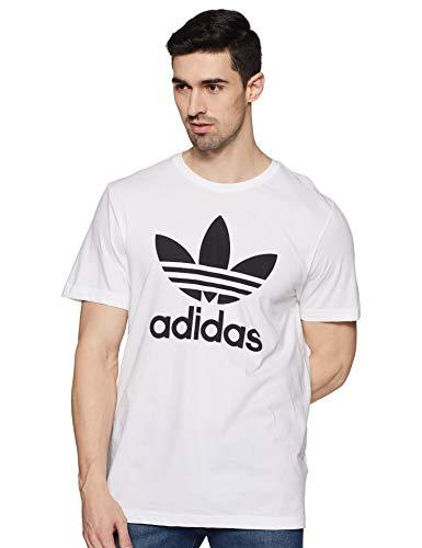 adidas Herren T-shirt Originals Trefoil, White, 2XL -