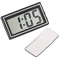Digital LCD salpicadero de coche escritorio Fecha Tiempo Calendario Reloj electrónico de mini alta calidad Truck Auto
