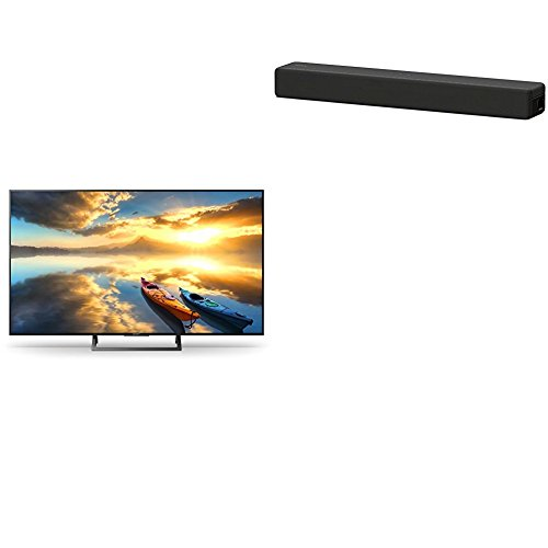 "Sony KD-43XE7004 - Televisión de 43"" UHD HDR (Motionflow XR, 100Hz, X-Reality PRO 4K, Wifi, YouTube, Netflix, USB HDD Rec)  + Sony HTSF200 - Barra de sonido compacta (2.1 canales, subwoofer"