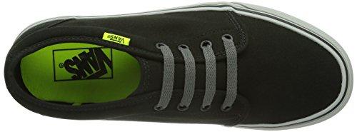 Vans U 106 VULCANIZED Unisex-Erwachsene Sneakers Schwarz (Black/Charcoal/ / DUR)