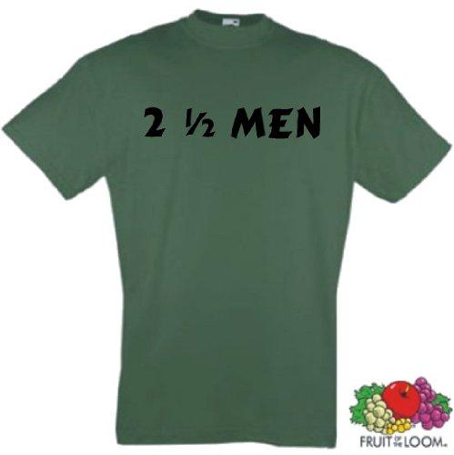 Preisvergleich Produktbild world-of-shirt Herren T-Shirt Two and a half Men
