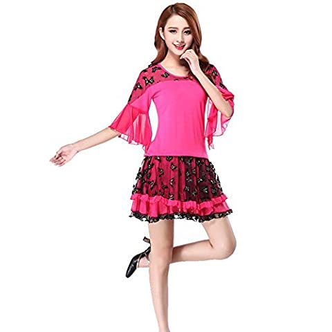 Costumes Ballroom Dancer Halloween - Wgwioo Femmes Latin Square Dance Dress Ballroom