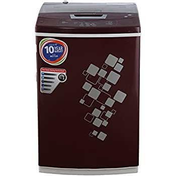 Videocon VT55H12 Digi Gracia Fully-automatic Top-loading Washing Machine (5.5 Kg, Dark Maroon)