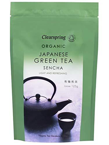 Clearspring Organic Japanese Green Tea Sencha Loose 125 g