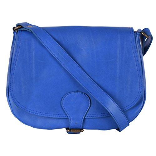 OH MY BAG VINTAGE, Borsa a spalla donna Blu (Blu reale)