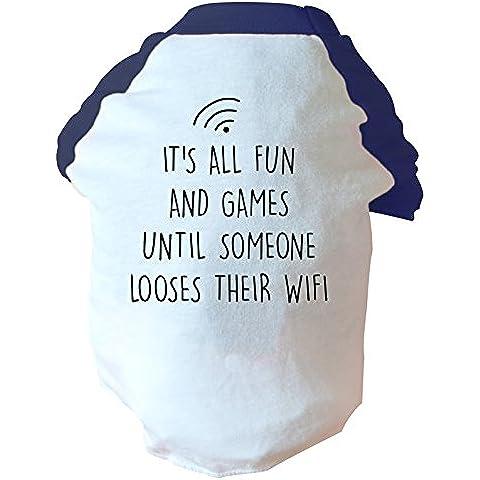 È giocosa e finché qualcuno looses loro wifi, colore: due tonalità di colore: rosa/blu