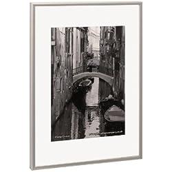 The Photo Album Company PAAFA4B - Marco de fotos (aluminio satinado)