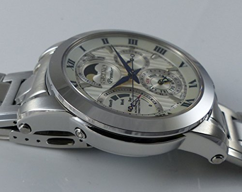 Seiko Herren-Armbanduhr Analog Handaufzug Edelstahl SRX011P1