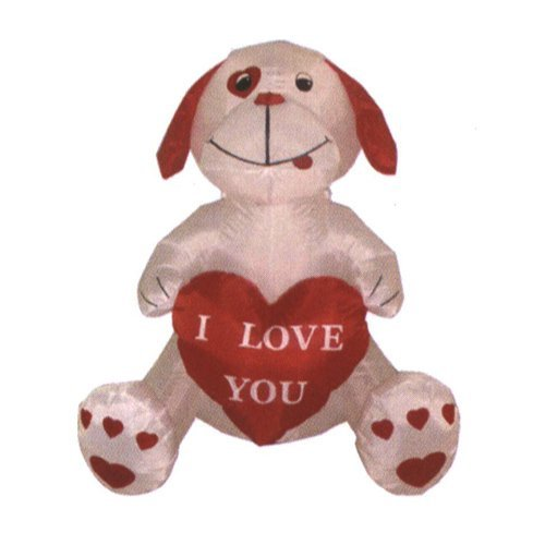 4Fuß aufblasbar Puppy Dog, Great für Jahrestag, Hochzeit und Valentinstag Party (Yard Inflatables Halloween)