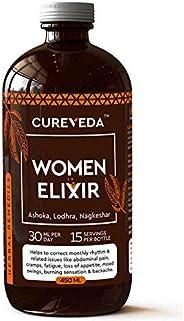 Cureveda™ Herbal Women Elixir- For Women's Health (Period cramps, mood swings, feminine pain relief) 450ml
