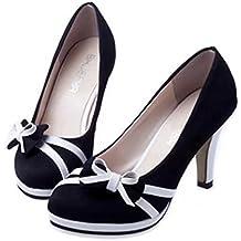 Zapatos de tacón redondo de moda de primavera de Covermason para