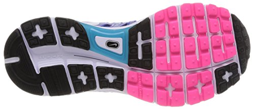 Nike Wmns Zoom Vomero 9, Scarpe sportive, Donna Lyon Blue/Black-White-Pink Pow