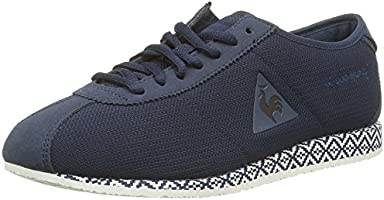 Le Coq Sportif Wendon W Ethnic, Sneakers Basses Femmes, Bleu (Dress Blue), 36 EU