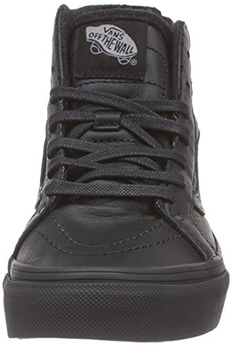 VansK SK8-HI ZIP MTE - Sneaker Unisex - bambino Nero (black/leather)