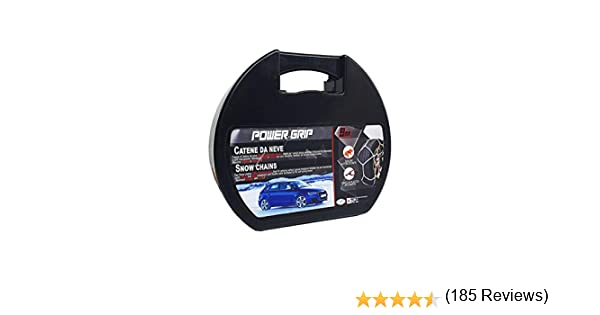 Catene da Neve Power Grip 9mm  Gruppo 90 per pneumatici 205//40r18 OMOLOGATE
