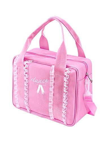 Besbomig dancewear borsa da danza per ragazza bambini rosa zaino zaino borsa a tracolla borsa spalla