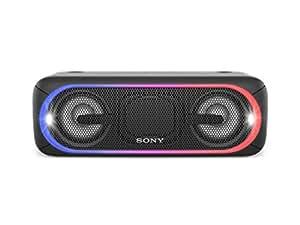 Sony SRS-XB40 Enceinte portable sans fil Bluetooth avec effets lumière - Noir