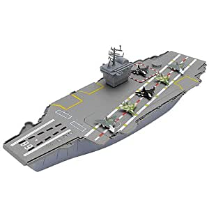 True Heroes Aircraft Carrier Playset: Amazon.co.uk: Toys ...