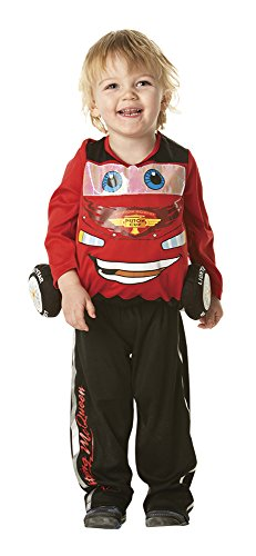 Rubie's Flash Mcqueen-Kostüm für Kinder - 2-3 -