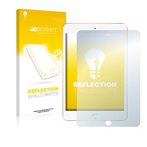 upscreen Matt Schutzfolie kompatibel mit Apple iPad Mini 5 2019 - Entspiegelt, Anti-Reflex, Anti-Fingerprint -