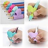 Moderne Büroartikel 3 stücke Stifthalter Stift Schreibhilfe Griff Handschrift Griff Korrekturgerät Körperhaltung Korrekturwerkzeug Ideal für den Einsatz im Büro