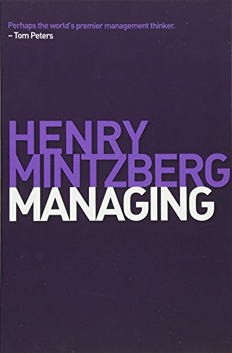 Managing por Henry Mintzberg