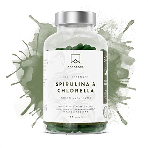 Gélules de Spiruline Chlorella [ 1800 mg ]...