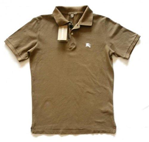 burberry-maglia-polo-t-shirt-manica-corta-uomo-in-cotone-3918091-tortora-tg-s