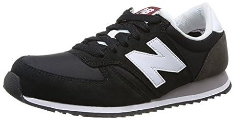 New Balance U420CBW, Men Low-Top Sneakers, Black (Black/White), 8.5 UK