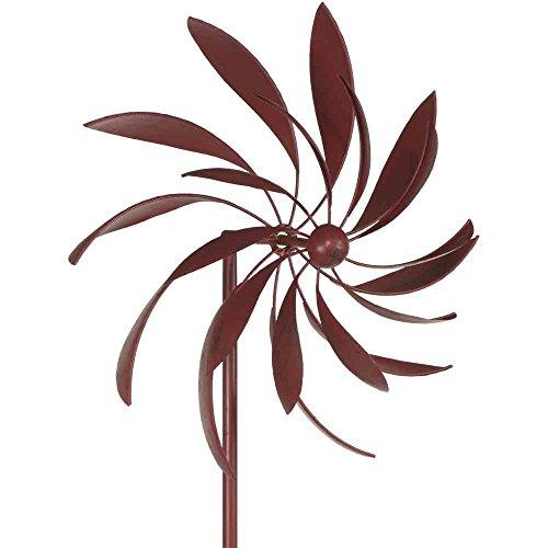 Siena Garden Windrad Lodos, Gartendeko, Metall, 50x25x198cm, grau, 381587