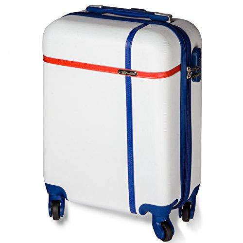 oramics-valise-cabine-rigide-trolley-4-roues-leger-bagage-a-mains-53-x-35-x-20-cm-blanc-bleu
