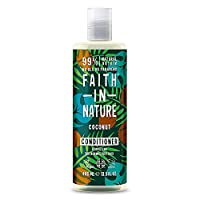 Faith in Nature Natural Coconut Conditioner, Hydrating, Vegan & Cruelty Free, Parabens and SLS Free, Normal to Dry Hair…