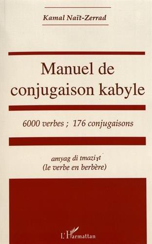 Manuel de conjugaison kabyle