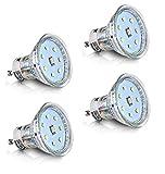 4er Pack SET GU10 LED Lampe 3W 240lm (Ersetzt ca. 25W) Kaltweiß - SMD LED Leuchtmittel - 120° Abstrahlwinke TÜV SÜDl