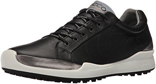 Ecco Men'S Biom Hybrid, Chaussures de Golf Homme, Schwarz (50172BLACK/Black Solid), 44 EU