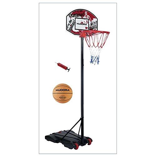 Hudora Basketballkorb Set All Stars 71654 mit Ball und Pumpe