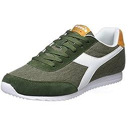 Diadora Jog Light C, Zapatillas de Gimnasia para Hombre, Verde (Verde Olivine), 44.5 EU