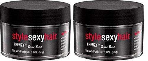 Sexyhair Style Frenzy 2 x 50g flexible Creme/matte texturizing Paste