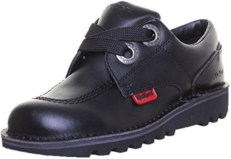 Kickers Kopey Lo Matte Damen LederstiefelKickers Unisex Leder Schuhe Schwarz Billig und erschwinglich Im Verkauf