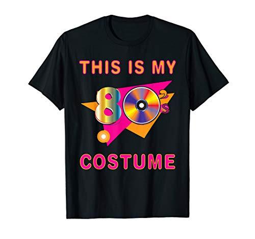 Kostüm Kinder Jahre 1980er - This Is My 80s Kostüm Design 1980er Jahre Party-Accessoires T-Shirt