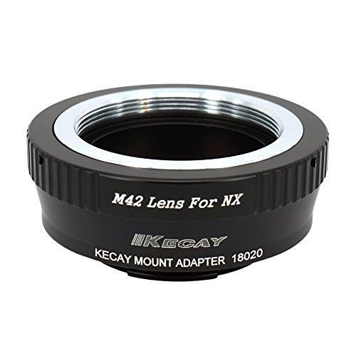 KECAY® M42 42mm Tornillo Adaptador para la Montaje de Lente a la Cámara de Samsung NX, NX1, NX3000, NX2000, NX300M, NX300, NX1000, NX210, NX200, NX30, NX20, NX5