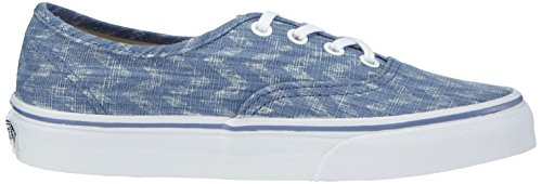 Vans U Authentic Denim Chevron, Baskets Basses Mixte Adulte Bleu ((denim Chevron) Blue