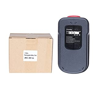 Vinteky® [18.00V 1300mAh] Battery for Black and Decker A18 A1718 BD18PSK BDGL1800 BDGL18K-2 SS18 EPC 18 H1 EPC18H1 A18E H1 A18EH1 FS188F4 GLC2500