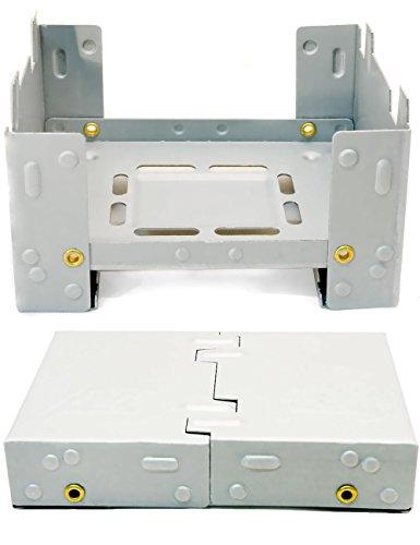 OUTDOOR SAXX® - Klappbarer kompakter Kocher für Esbit Trocken-Brennstoff Stove | Dosen, Töpfe, Pfannen | Zelten, Festival, Hosentaschen-Format