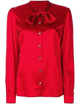 Dolce E Gabbana Blusa Donna F5I11TFURAGR0367 Seta Rosso