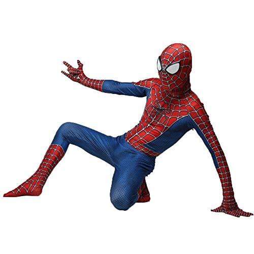 stüm, Superheldenkostüm, Halloween-Karnevalskostüm, Film-Cosplay-Kostüm, Kind/Erwachsener,Adult-S ()